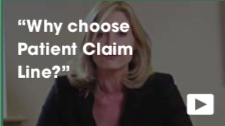 Why choose Patient Claim Line video thumbnail