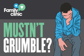 Mustn't Grumble infographic